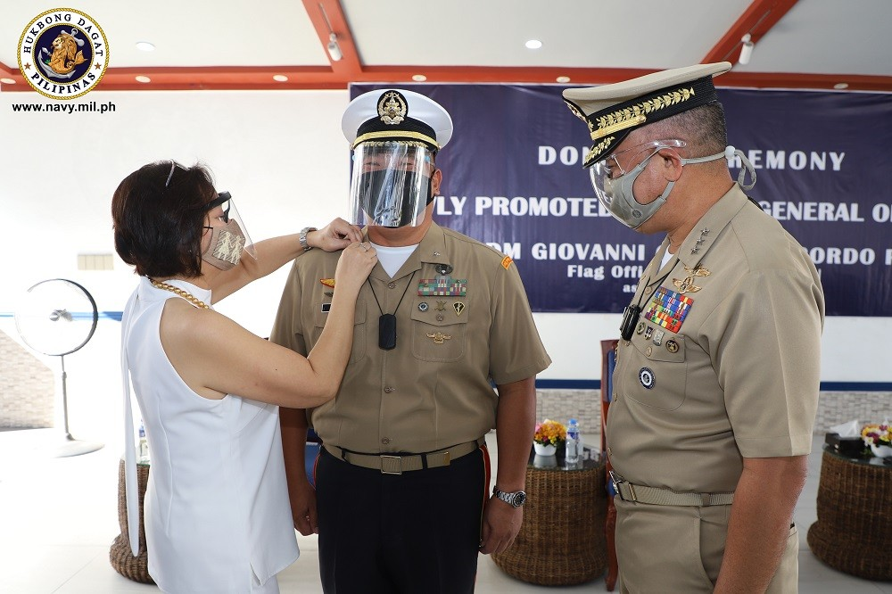 Image Title: 3 Navy senior officers promoted to next higher rank