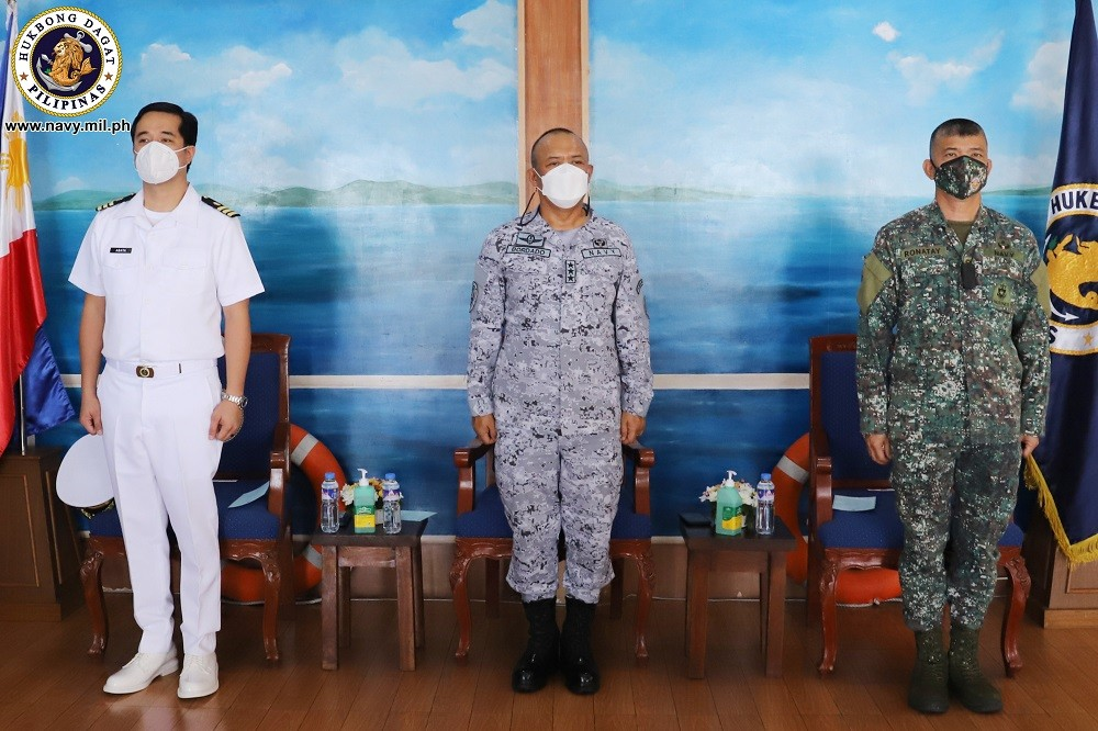 Image Title: PH Navy inducts Cavite solon to its reserve force